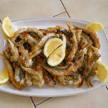 Sardine in pastella