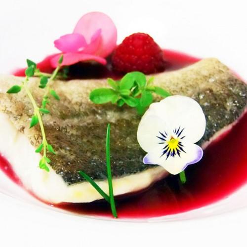 baccalà islandese su brodo rosso agrodolce
