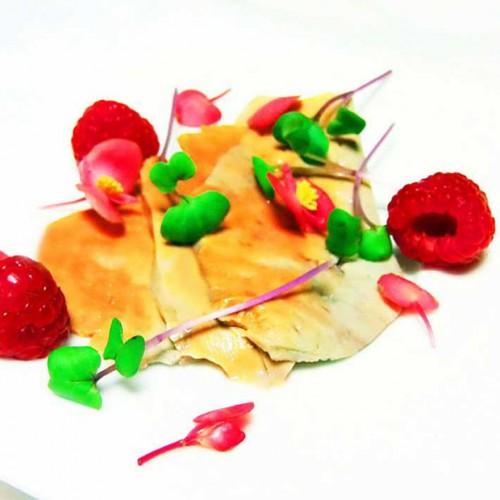 Foie gras di rana pescatrice