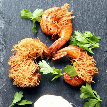 shrimp kataifi