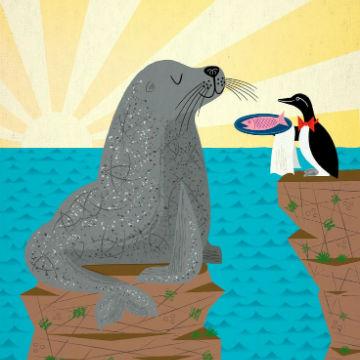 Pappa Fish. I bambini promuovono il menù di pesce!