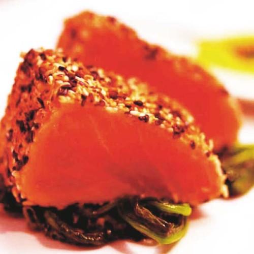 Filetto di tonno rosso al sesamo