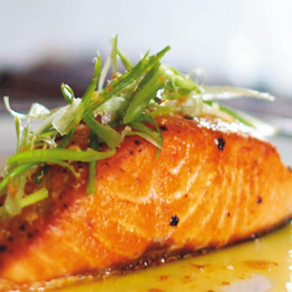 Salmone con burro al limone fresco pesce for Alta cucina ricette
