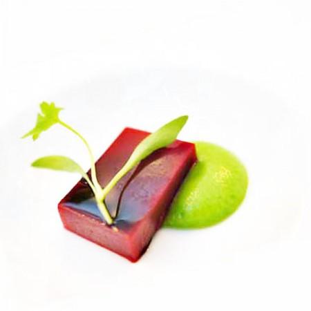 Lingotto di lampone con essenze di gambero rosso su crema for Ricette gambero rosso