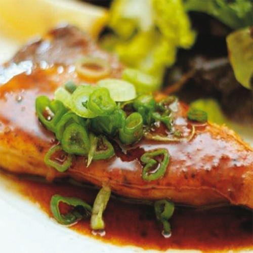 Ricciola in salsa teriyaki