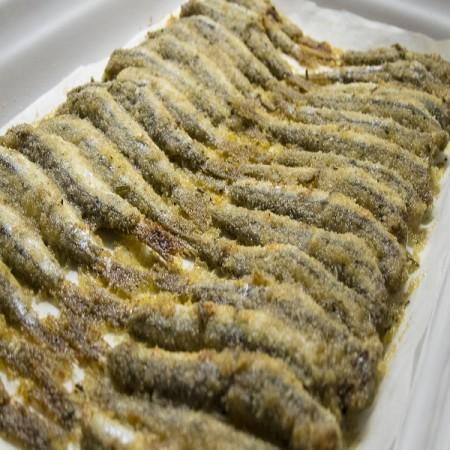 Alici al forno fresco pesce for Ricette culinarie