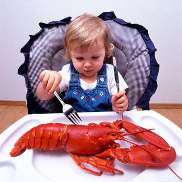 Bambini consumate più pesce