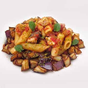 Ricetta Pasta Con Pesce Spada E Melanzane