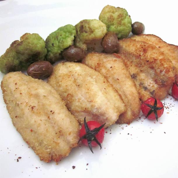 ricetta-filetti-panati-di-sgombro-con-cavolfiore-alle-olive-e-pomodorini-scottati-11