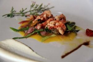 ricetta insalata di gamberoni con vongole veraci