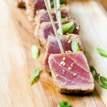 come scegliere e cucinare il tonno fresco pesce
