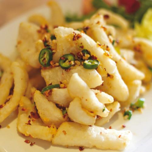 Totanetti piccanti, in tempura