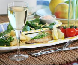 Il connubio perfetto di vino e pesce