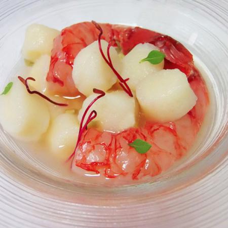 Gnocchi di acqua affumicata di patate con crudo di for Ricette gambero rosso