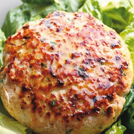 Hamburger Di Pesce Spada Al Profumo Di Limone Fresco Pesce