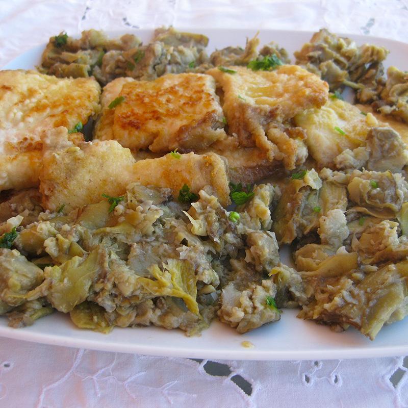 Scaloppine di pesce spada con carciofi fresco pesce for Ricette con carciofi
