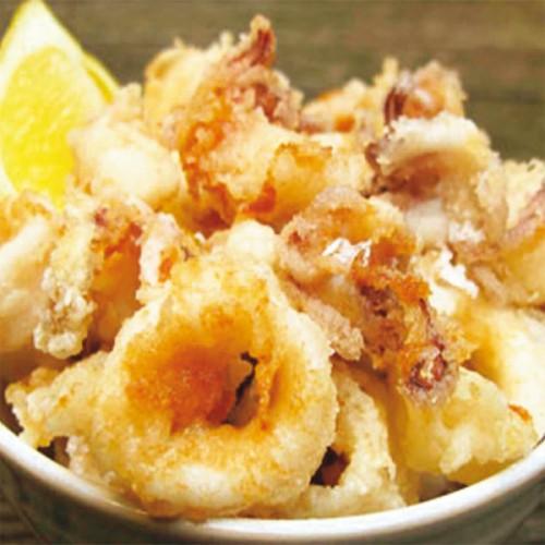Calamari in tempura al profumo d'arancia