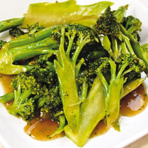 Broccoli in salsa di ostriche