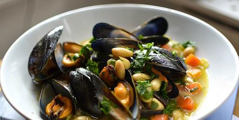 C'era una volta fagioli e cozze...i segreti della cucina zen nei piatti di pesce.