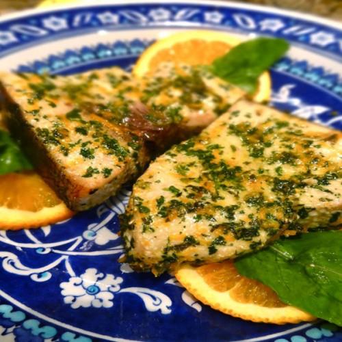 Spada grigliato, in salsa ponzu